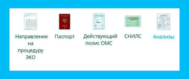Анализы для ЭКО по ОМС 2019: список необходимых обследований и документов