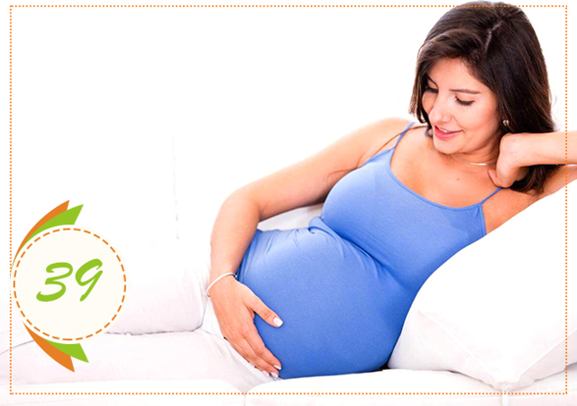 Тридцать девятая неделя беременности: вес, рост и размер ребенка, важные медицинские обследования и УЗИ, предвестники родов, неприятные признаки и симптомы