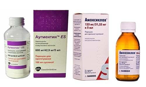 Аугментин или амоксиклав: что лучше при ангине и бронхите для ребенка и взрослого