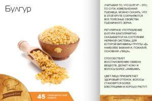 Булгур: характеристики и состав крупы, польза и вред для организма, применение в кулинарии