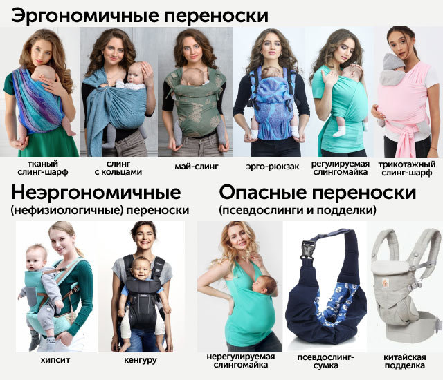 Как выбрать слинг для новорожденного, грудничка: в чем особенность разных моделей, как выбрать
