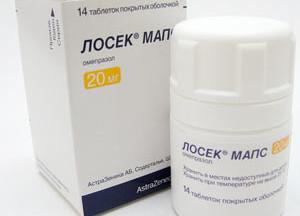 Лосек Мапс: 10, 20 мг: от чего помогает, подробная инструкция по применению, аналоги