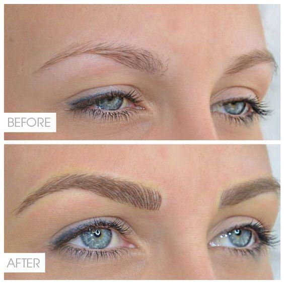 Перманентный макияж губ, бровей, глаз: фото до и после, преимущества и недостатки татуажа