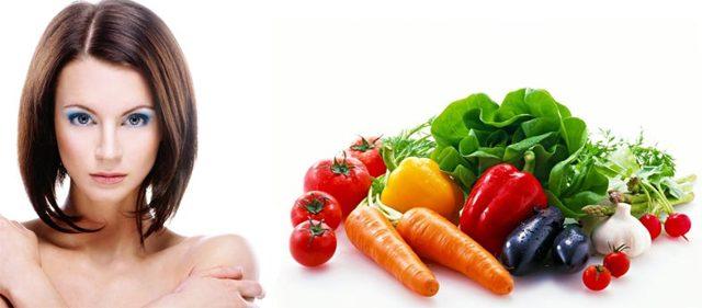 Питание при выпадении волос:рекомендуемые продукты, возможные причины