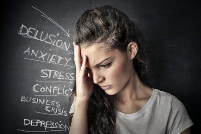 Последствия сильного стресса — потеря зрения, ухудшение аппетита