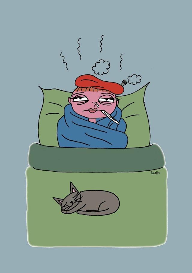 Сколько держится температура при ОРВИ у взрослого?