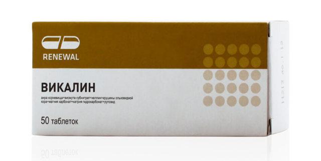 Таблетки Викалин: от чего помогают, инструкция по применению, аналоги препарата