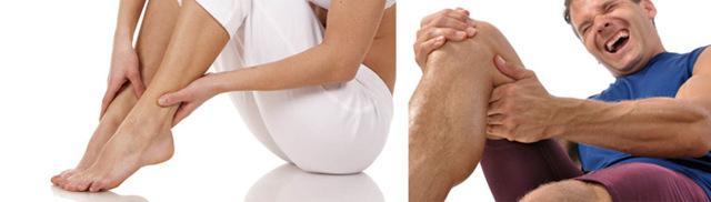 Почему болит нога от бедра до колена и тянет мышцы причины боли