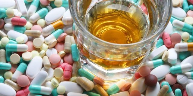 Можно ли вильпрафен с алкоголем