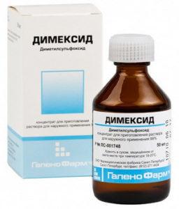 Димексид: инструкция по применению, фармакологическое действие, форма и состав, показания и противопоказания, аналоги и отзывы