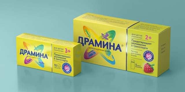 Драмина: инструкция по применению, фармакологическое действие, сколько действует, показания, аналоги, цены и отзывы