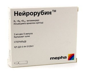 Нейрорубин в ампулах: инструкция по применению, механизм действия, взаимодействие с другими препаратами, побочные эффекты, аналоги, цены и отзывы