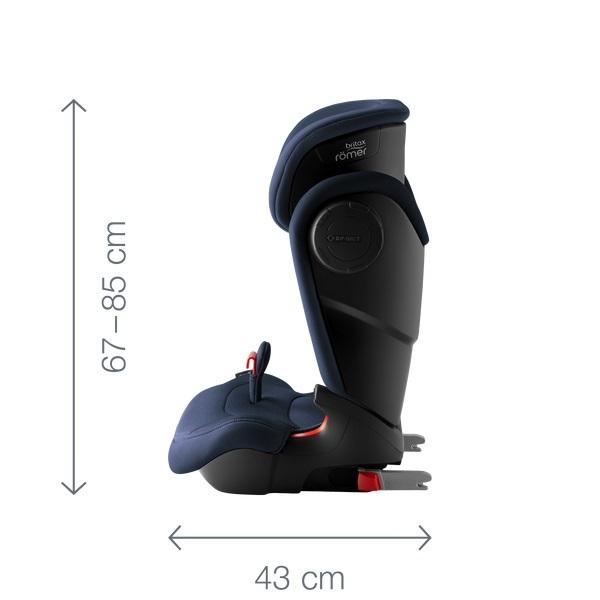 Автокресло Britax Römer Kidfix XP SICT (Бритакс Ромер Кидфикс ИксПи Сикт): 8 плюсов и 3 минуса, обзор, установка, стоимость