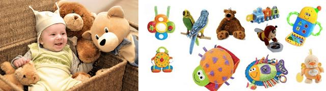 Какие игрушки нужны ребенку в 1 месяц и до года: примеры и советы детского психолога
